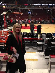Me at Bulls vs. Knicks on January 1, 2016. Bulls win 108 to 81.